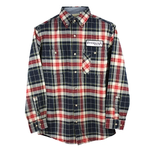 Brewery Plaid Patch Flannel Shirt