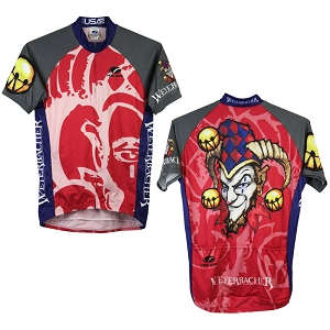 Men's Weyerbacher Short Sleeve Cycling Jersey